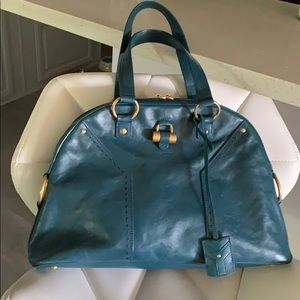 Yves Saint Laurent genuine leather bag